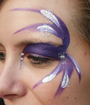 Purple Passion Eye Face Painting