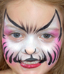 Princess Kitty Face Painting